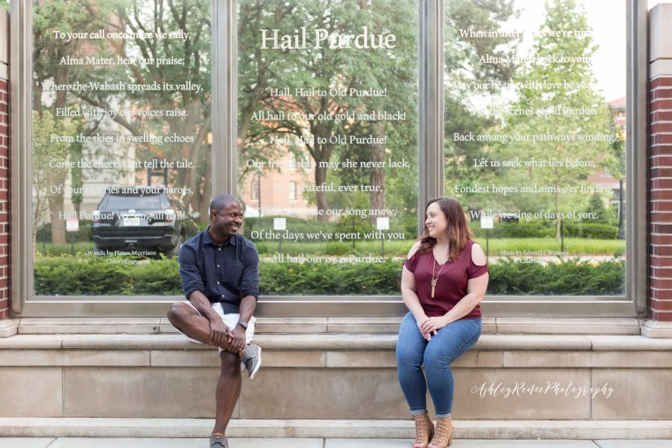 Purdue Engagement Session Ashley Renee Photography